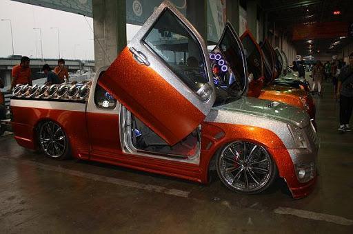 ابداع السيارات المعدله