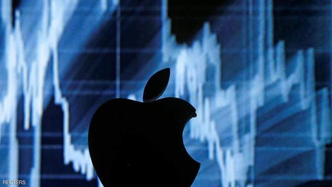 أبل تخسر 73 مليار دولار بأطول سلسلة خسائر منذ 1998