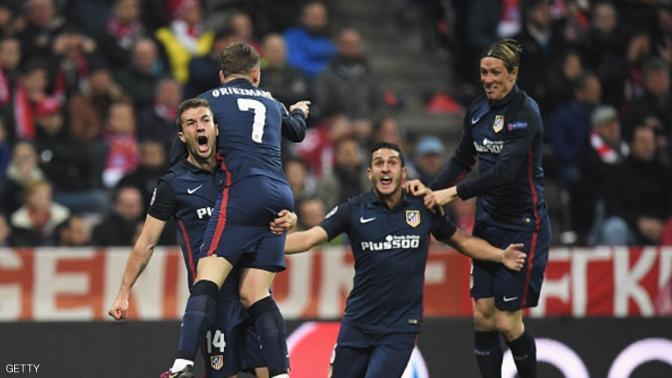 أتلتيكو مدريد إلى نهائي أبطال أوروبا رغم الخسارة