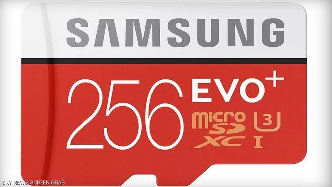 أكتشف الان سامسونغ تعلن عن أكبر بطاقة ذاكرة بالعالم في فئتها