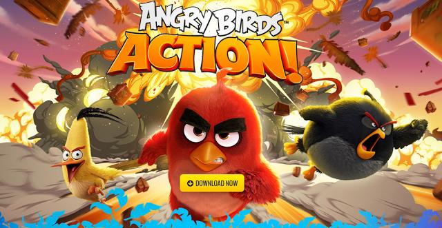 Rovio تطلق لعبة جديدة Angry Birds Action للتحميل للأندرويد و iOS