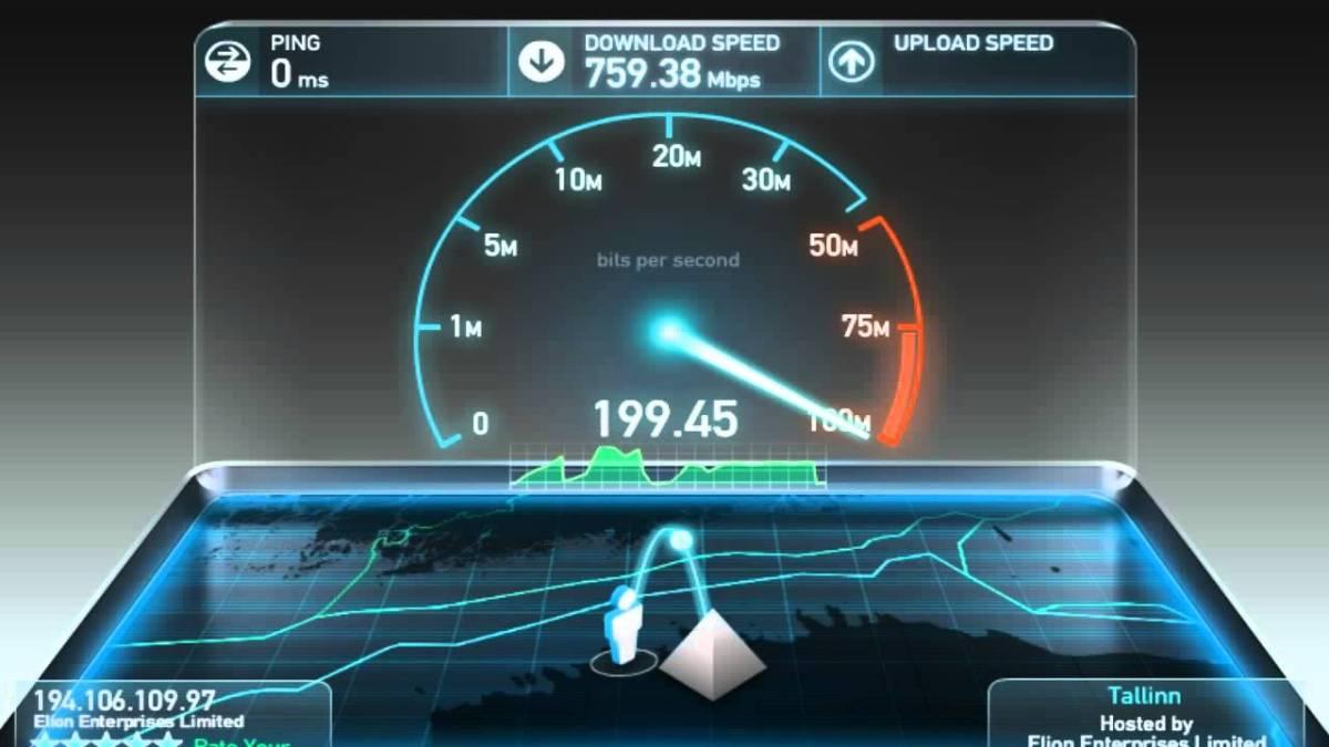 الأن بامكانك تصفح الانترنت و تحميل ملفات بسرعة تتجاوز 700mb في الثانية و بالمجان! أكتشف الطريقة (حقيقى)